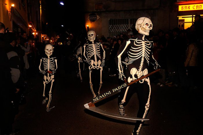 Death Dance and Verges Procession